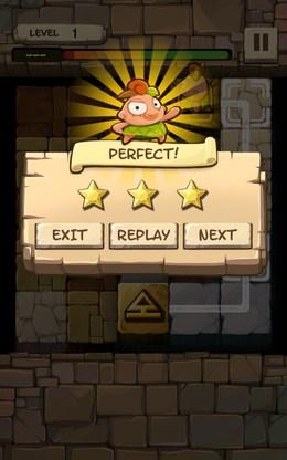 Удачное прохождение этапа - Caveboy Escape для Android