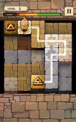 Приблизились к финишу - Caveboy Escape для Android
