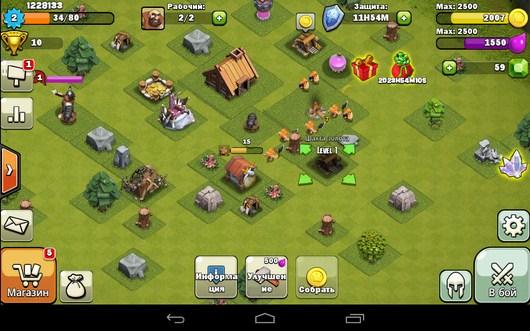 Ваше поселение - Clash of Spartan для Android