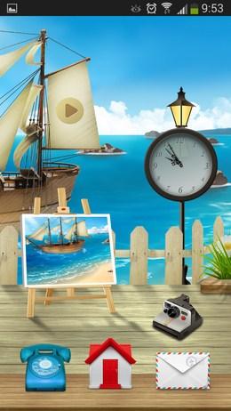 Графический рабочий стол - Cooee Rye Sea для Android