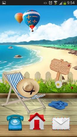 КРасивый лаунчер - Cooee Rye Sea для Android