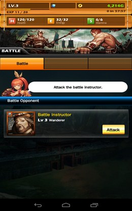 Выбор соперника для сражения - Dynasty Warlord для Android