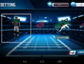 Выбор команды в игре Fanatical Football для Android