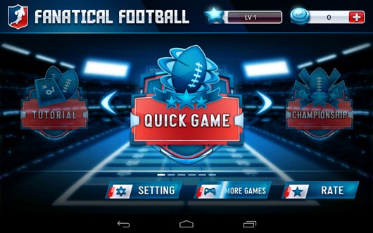 Режим игры - Fanatical Football для Android