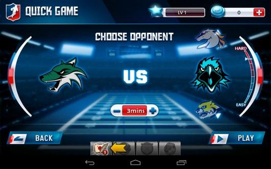Подбор соперника для матча - Fanatical Football для Android