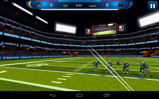 Мощный удар на перед - Fanatical Football для Android