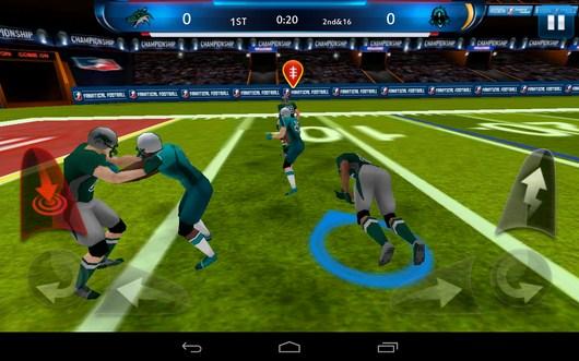 Отбираем мяч у соперника - Fanatical Football для Android
