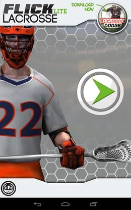 Спортивный симулятор лакросса Flick Lacrosse для Android