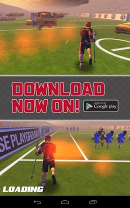 Загрузка игры Flick Lacrosse для Android