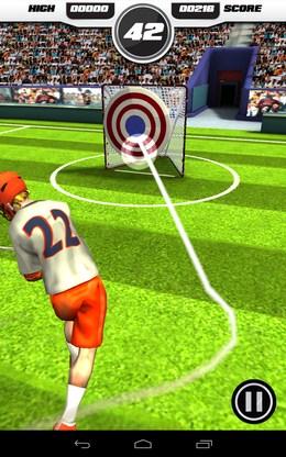 Первый бросок - Flick Lacrosse для Android
