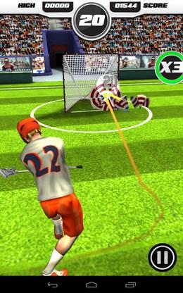 Мишень поражена - Flick Lacrosse для Android