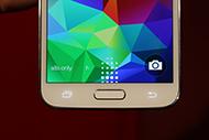 Сканер отпечатков пальцев Galaxy S5