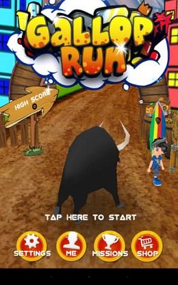 Раннер Gallop run для Android