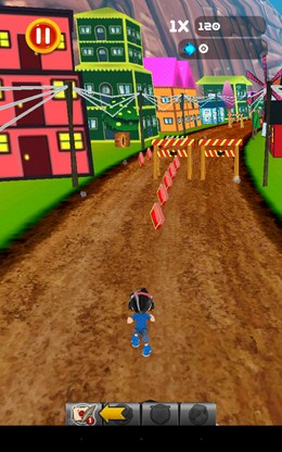 Убегаем от быка - Gallop run для Android