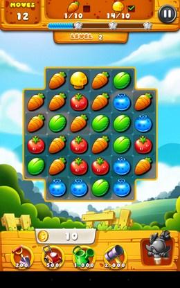 Передвигаем овощи - Garden Mania для Android