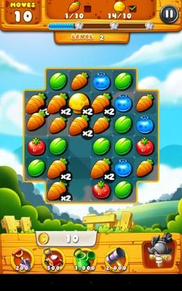 Удачная комбинация - Garden Mania для Android