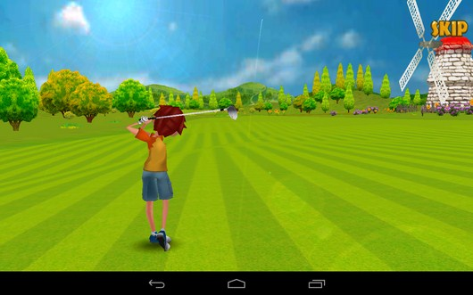 Удар совершен - Golf Championship для Android