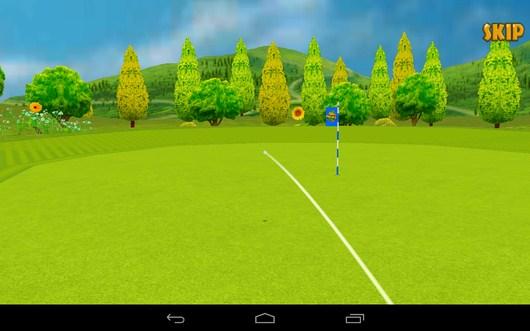 Мяч возле лунки - Golf Championship для Android