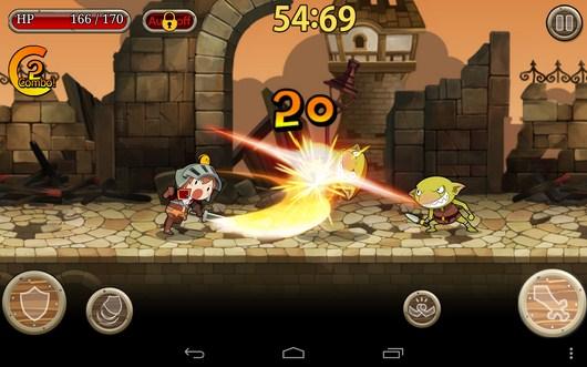 Начало сражения - Knights N Squires для Android