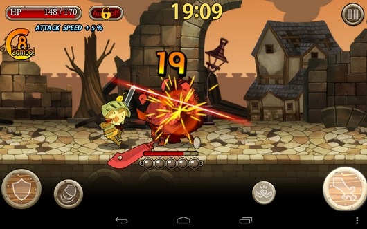 Стычка с боссом - Knights N Squires для Android
