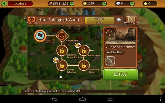 Все карты и подземелья - Knights N Squires для Android