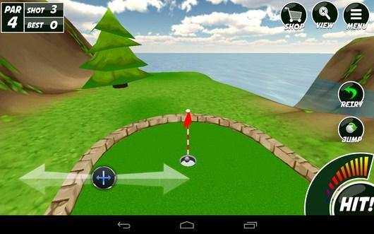 Мач в лунке - Mini Golf 2 для Android