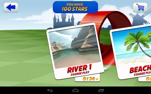 Выбор локации - Mini Golf 2 для Android