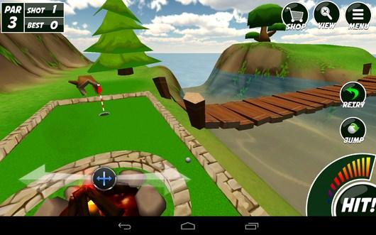 Удар совершен - Mini Golf 2 для Android