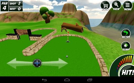 Целимся в лунку - Mini Golf 2 для Android