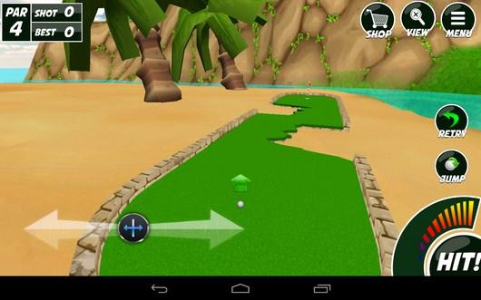 Направляем мячь для рекошета - Mini Golf 2 для Android