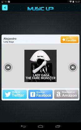 Слушаем отрывок - MusicUp для Android