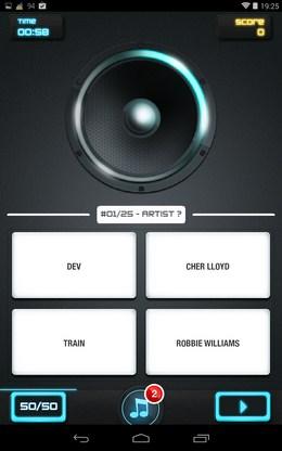 Первый трек - MusicUp для Android