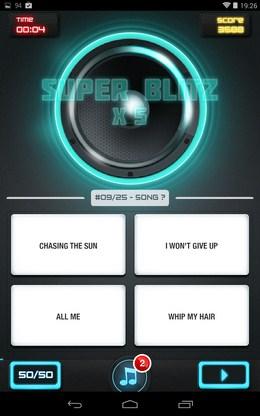 Получаем комбо - MusicUp для Android
