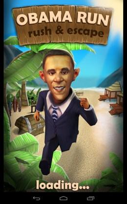 Раннер Obama Run для Android