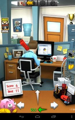 Кидаем степлер - Office Jerk  для Android