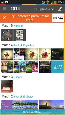 Все наши фото - PhotoFeed для Android