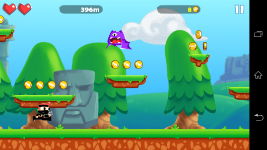Геймплей - Adventure Land для Android