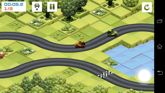 Настольные гонки - Groove Racer для Android