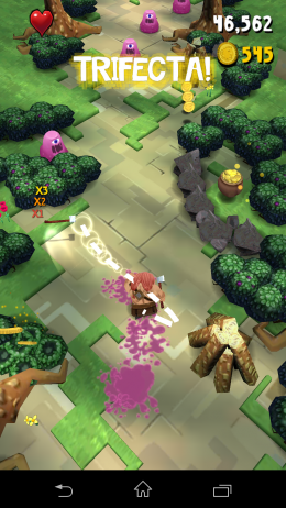 Уничтожение врагов - Max Axe: Quest For Loot! для Android