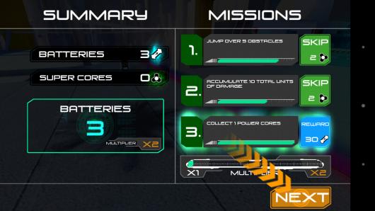 Миссии - RunBot для Android