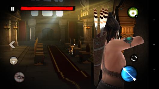 Гемплей - Kochadaiiyaan: Reign of Arrows для Android