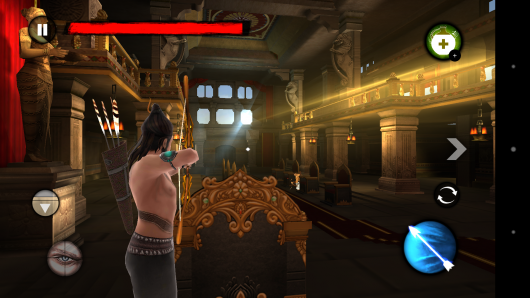1 уровень - Kochadaiiyaan: Reign of Arrows для Android
