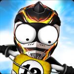 Иконка - Stickman Downhill - Motocross для Android