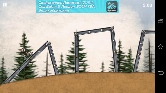 Заезд - Stickman Downhill - Motocross для Android