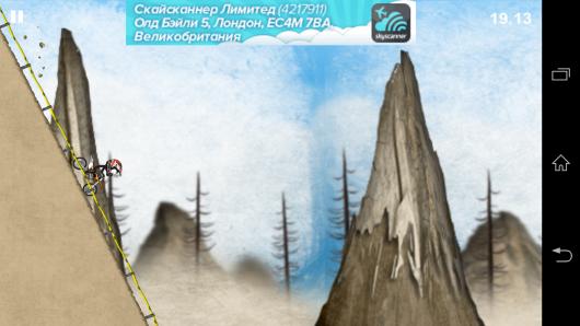 Крутой спуск - Stickman Downhill - Motocross для Android