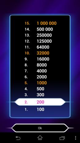Выигрыш - Миллионер для Android