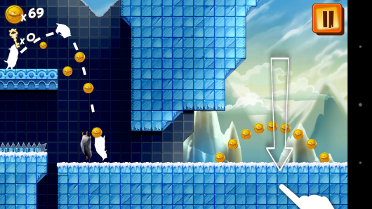 Прыжок с нырком - Adventure Beaks для Android