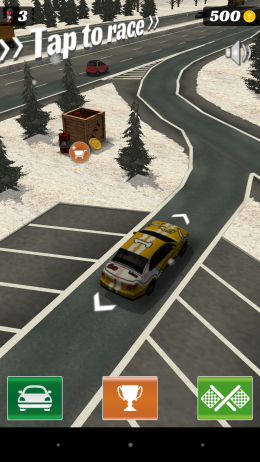 Меню - Highway Crash Derby для Android