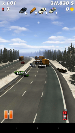 Столкновение на трассе - Highway Crash Derby для Android