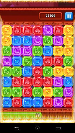 Кристаллы -  Diamond Dash для Android
